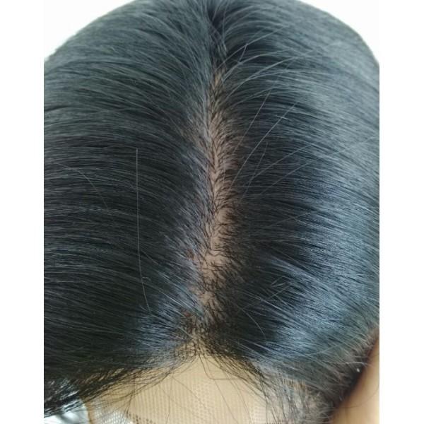 Coarse Yaki Lace Front Wig 39