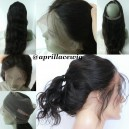 360 Lace Frontal Natural Wave Brazilian Virgin  --RF01