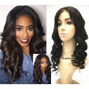 New Arrive-Brazilian virgin loose ocean wave middle part full lace wig-bw0084