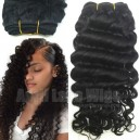 virgin hair deep wave machine weft on sale 15342-1