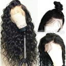 Brazilian virgin Loose deep curly glueless 360 wig pre-plucked hairline---BW0760