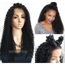 Brazilian virgin pineapple curls glueless 360 wig --BW0450