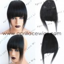 Virgin hair straight texture Chinese bangs   BS11