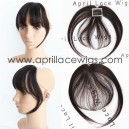 Virgin hair straight texture See-through bangs BS22