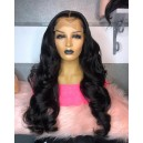 4x4 HD lace closure wig virgin human hair preplucked hairline HDW244